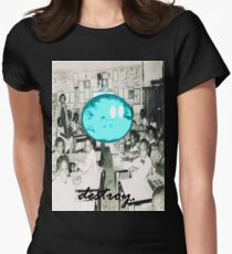 destroy.#4 Womens Fitted T-Shirt