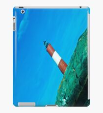 The lighthouse at the end of the world. iPad Case/Skin