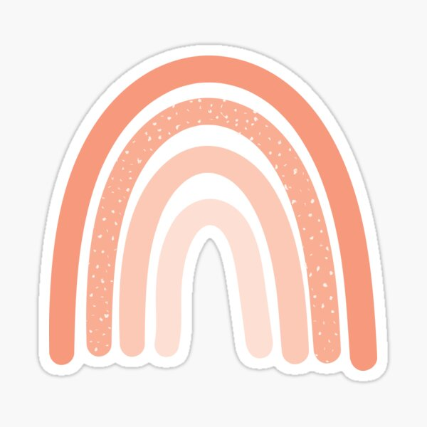 Peach Aesthetic Stickers | Redbubble