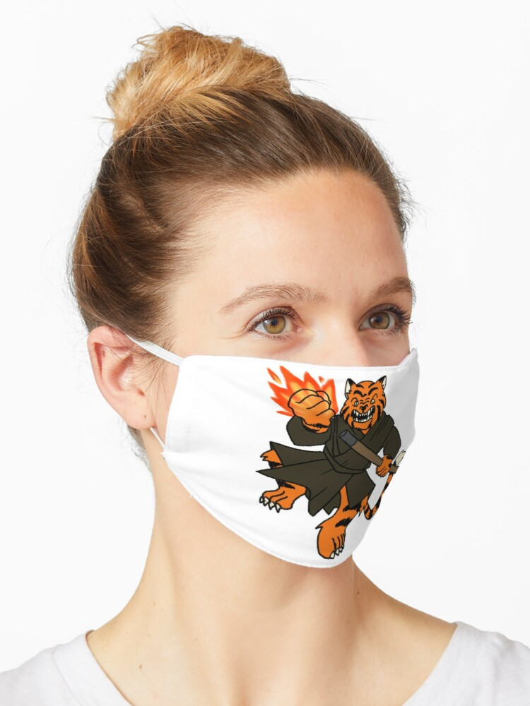 Tabaxi Monk Mask By Grapeglasses Redbubble I can't find anything definitive on sage advice and a group of friends and i have been arguing. redbubble