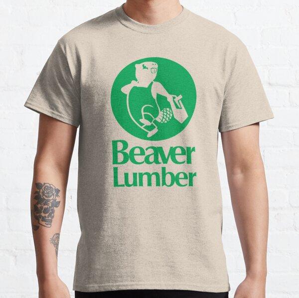 Beaver Lumber (green) Classic T-Shirt