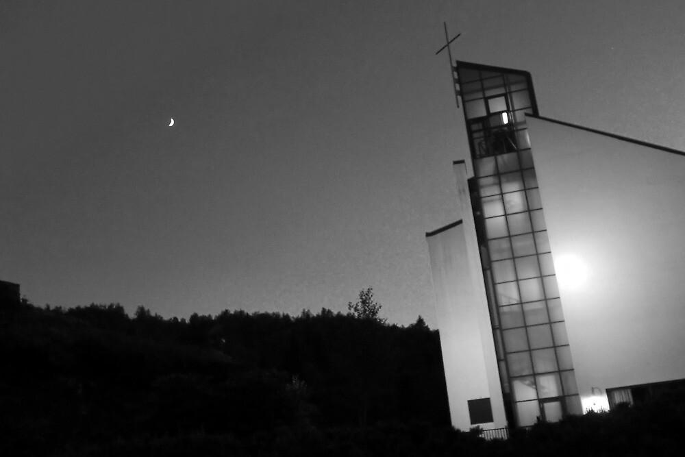 Moony church by amafev