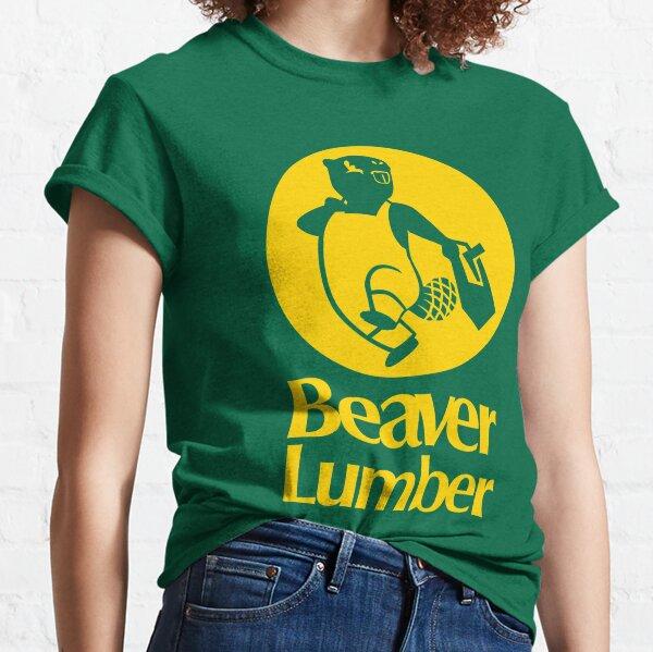 Beaver Lumber (yellow) Classic T-Shirt