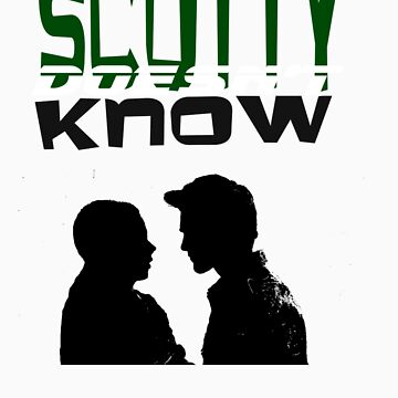 Scotty doesn't know (green) by Lillyeven