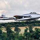DH100 Vampire FB.6 PX-K LN-DHY by Colin Smedley