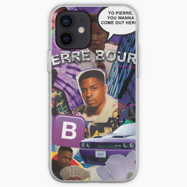 Pierre Bourne Collage iPhone Soft Case