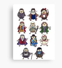 Doctor Hoots Canvas Print