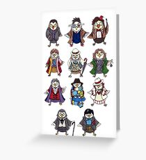 Doctor Hoots Greeting Card