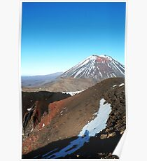 Tongariro Crossing Poster