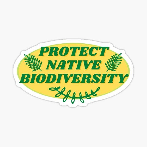 Protect Native Biodiversity Sticker
