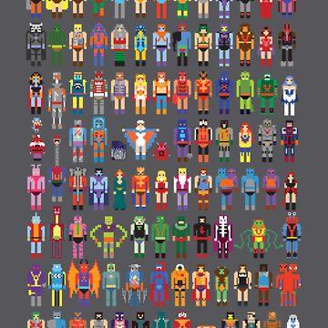8-bit Masters by Artbone