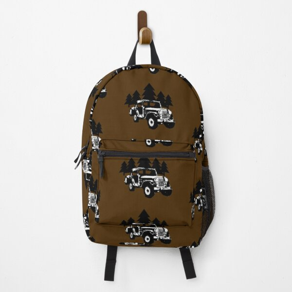 Jeep and Trees Backpack