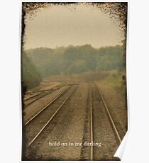 Railroad Track 2 Poster