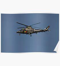 Belgium Air Force Agusta / Agusta-Bell - A 109BA Poster