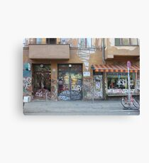 Berlin east chaos !  Canvas Print