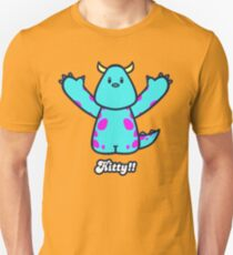 Kitty!! Slim Fit T-Shirt