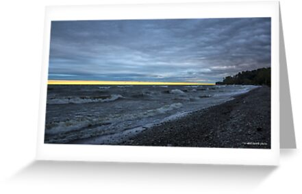 A Yellow Line of Sunrise by Mikell Herrick