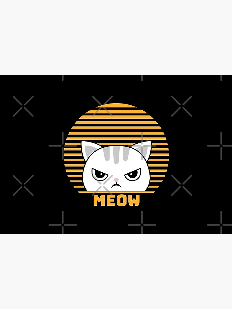Cute Funny Vintage Retro Style Kawaii Cat Lover  by mexicandoo