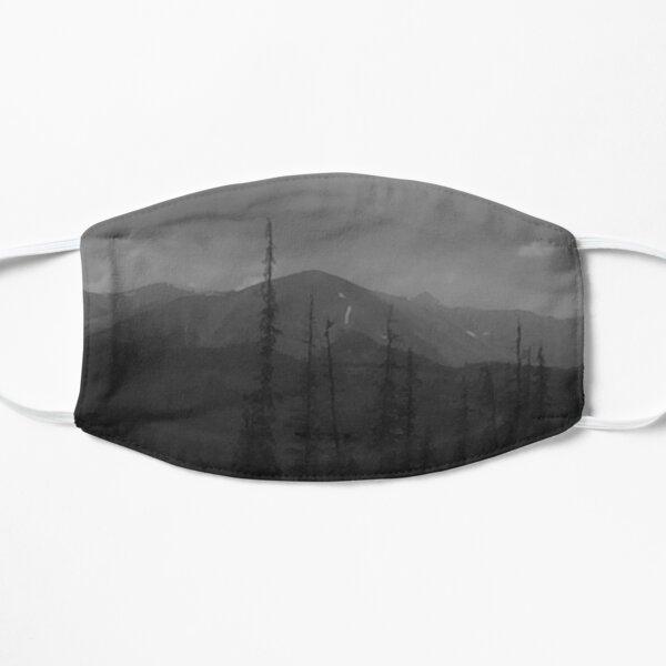 Mountain sketch Flat Mask