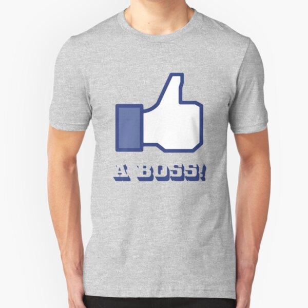 Like a BOSS! Slim Fit T-Shirt