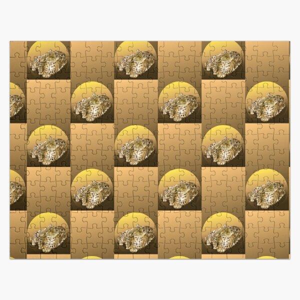 Amur Leopard Love Jigsaw Puzzle