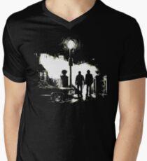 The Hunters (Supernatural) [No Text] Men's V-Neck T-Shirt