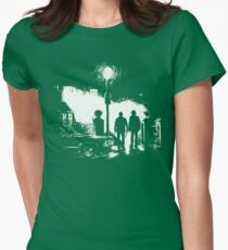 The Hunters (Supernatural) [No Text] Womens Fitted T-Shirt