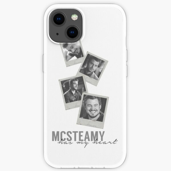 MCSTEAMY heart  iPhone Soft Case