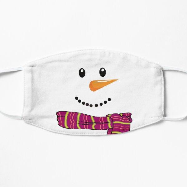 Snowman on Christmas Mask