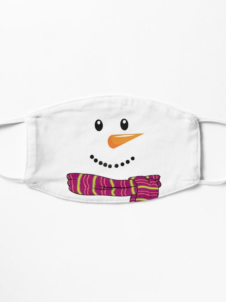Masque ''Bonhomme de neige à Noël': autre vue