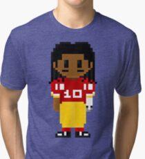 Robert Griffin III Full Body 8-Bit 3nigma Tri-blend T-Shirt