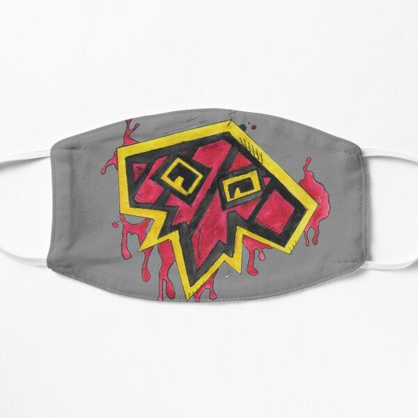 Schamanen-Splatter Flache Maske