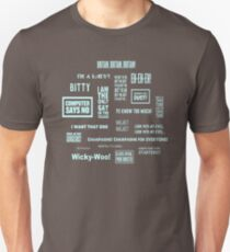 Little Britain - Britainisms Unisex T-Shirt