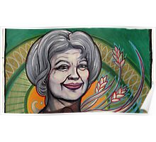 portrait of Jill Stein. Poster