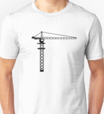 Construction Crane Unisex T-Shirt
