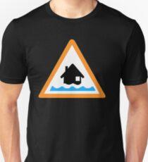 Flood Alert Symbol T-Shirt
