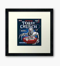 Centurion Toast Crunch Framed Print