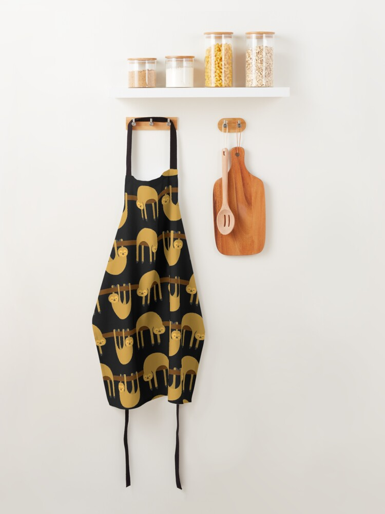 Alternate view of Sloth Hanging Apron