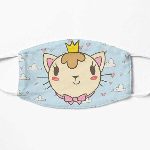 Queen Cat Flat Mask