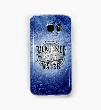 Back Side of Water (Black) Samsung Galaxy Case/Skin
