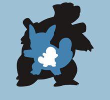 Squirtle - Wartortle - Blastoise Evolution | Unisex T-Shirt