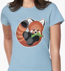 Cute Red Panda Women's Fitted T-Shirt