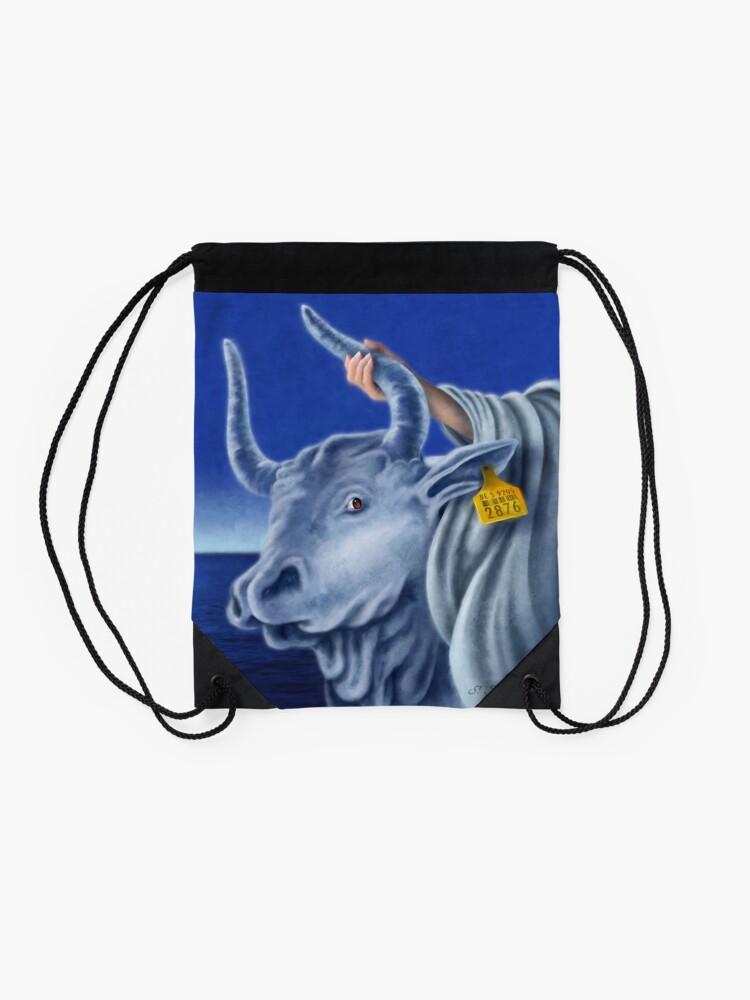 Alternate view of Europe Drawstring Bag