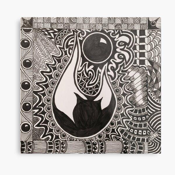 Fireball Metal Print