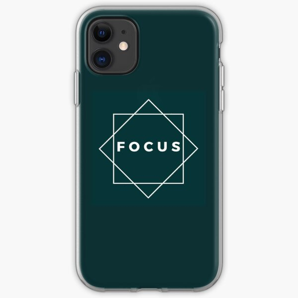 Time to focus iPhone Soft Case