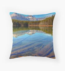 Herbert Lake Throw Pillow