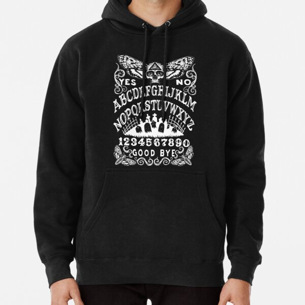Death Head Moth Witch Board Pullover Hoodie