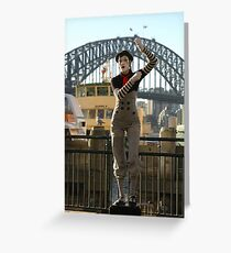 Sydney's Statue Of Liberty? Australia 2010 Greeting Card