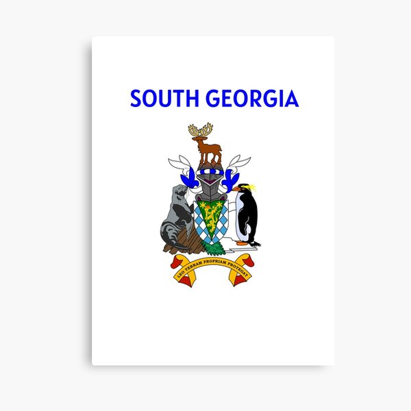 South Georgia and the South Sandwich Islands Canvas Print