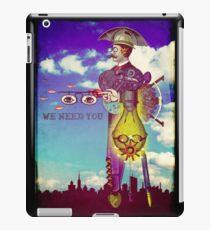 We need YOU! iPad Case/Skin